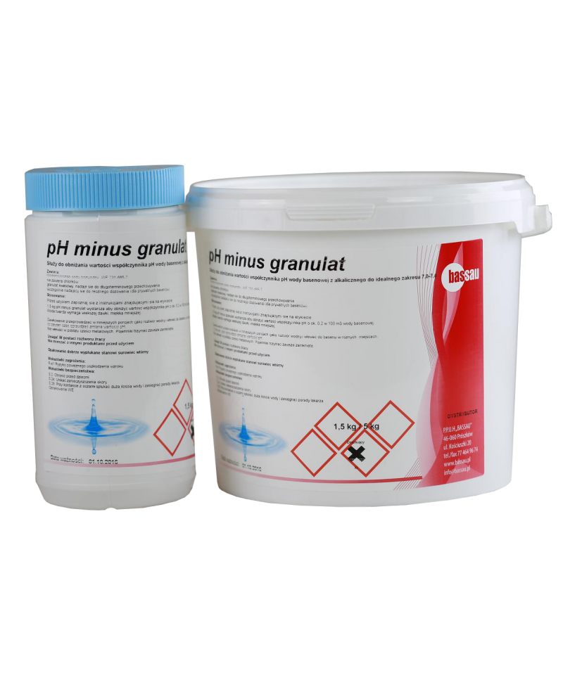 pH minus granulat